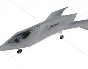 3D asset BOEING - Black Project - Bird of Prey