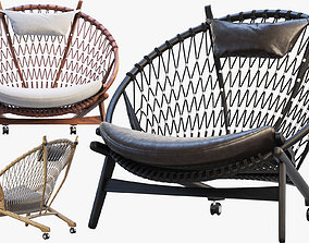 3D PP130 Circle Chair 3 options