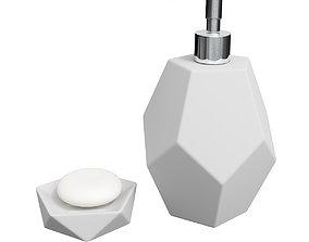 Soap Tray CB2 Kastor 3D