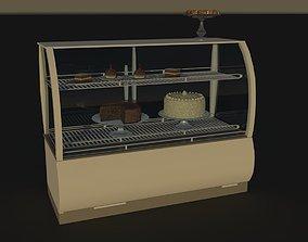 Glass display case 3D model