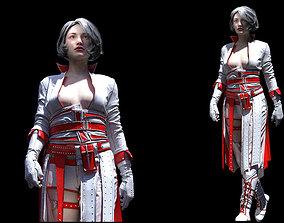 Womens clothing Marvelous Designer 3D model