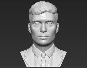Tommy Shelby from Peaky Blinders bust 3D printing ready 1