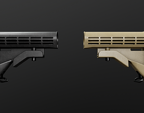 3D model Colt LE AR15 Collapsible Buttstock