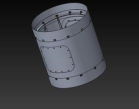Rocket dry compartment 3D
