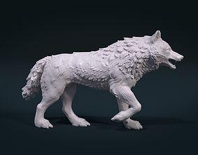 3D print model Wolf figure