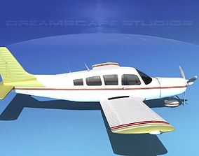 3D model Piper Cherokee Six 260 V07