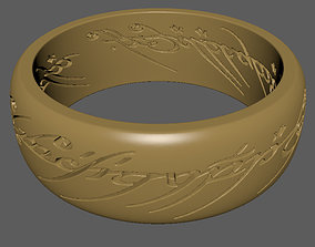 Lord Of The Ring ring 3D print model