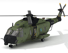 3D model NH90 German army
