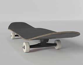 equipment 3D model Skateboard