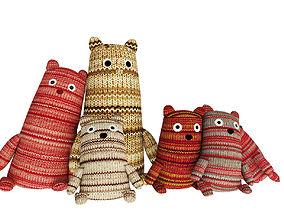3D Realistic Children Teddy Bears