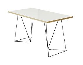 Desk Flow Temahome 140x75 cm by 3D asset