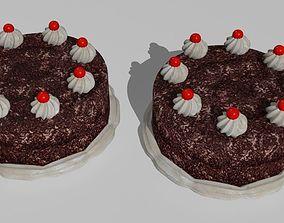 3D 6 cakes
