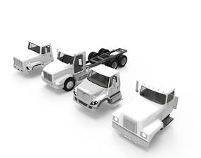 3D print model Truck full set and head varian