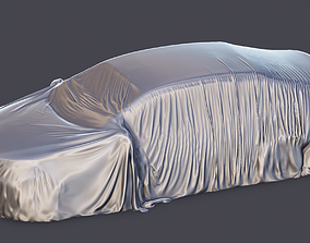 3D model Tented car possibly wrecked