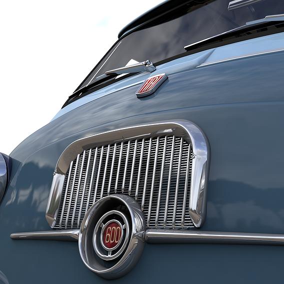 FIAT 600 MULTIPLA CORIASCO FAMILIARE 1956