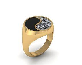 jewelry Mens ring 3D printable model