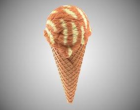 Icecream 3D model sweet