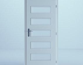 3D White Door 59