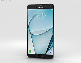 3D model Samsung Galaxy A9 Pro 2016 Black