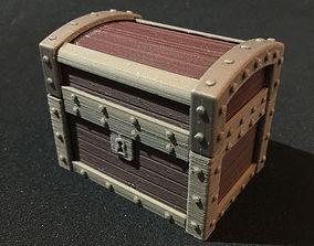 3D printable model Treasure Chest Ring Box Mk 2