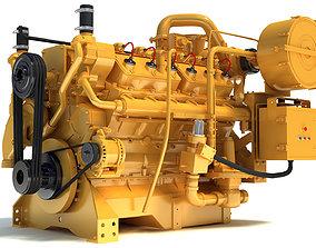Generator Industrial Engine 3D model