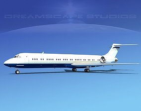 3D McDonnell Douglas MD-87 Corporate 14