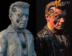 Terminator damage 3D print model t800