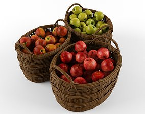 3D model Apple baskets