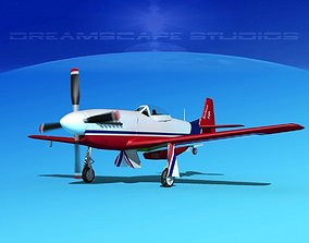 P-51 Mustang Sport Serious 3D