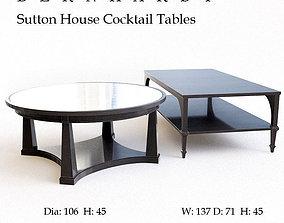 Bernhardt Sutton house cocktail table 3D model