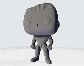 Funko Pop Superhero Custom 3D Printable