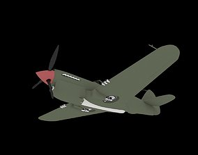3D Curtiss P-40