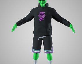 Alien Maya Rig - Unity and Unreal 3D asset