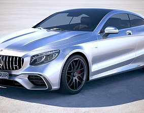 3D model Mercedes S63 AMG coupe 2018