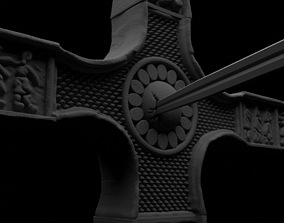 Cross from the Dracula movie by 3D printable model