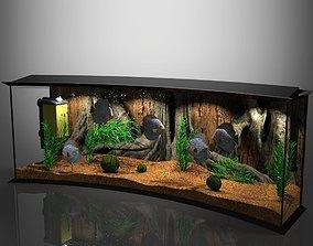 Panoramic Aqua Tank 3D ocean