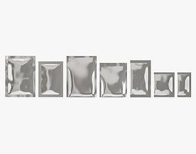 3D Food Packaging Set 06