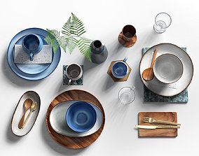 3D Tableware Set 5