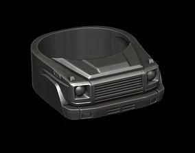 3D print model car ring 35