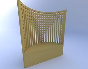 furniture 3D Bench