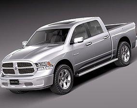 3D model Dodge Ram HFE crew cab