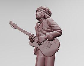 Jimi Hendrix - 3D Printing