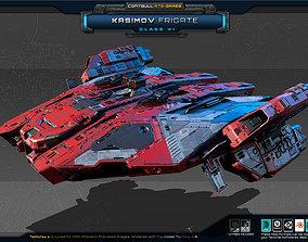 NEXTGEN - Kasimov Frigate - Class VI 3D asset