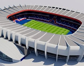 3D model Parc des Princes - Paris Saint Germain PSG