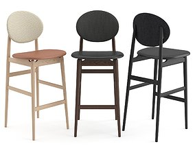 OUTLINE BAR STOOL by Ariake 3D
