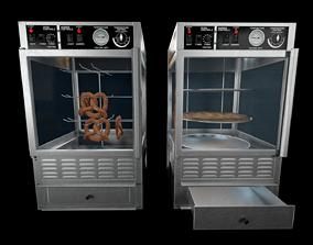 Pretzel and Pizza Warmer Ovens 3D model