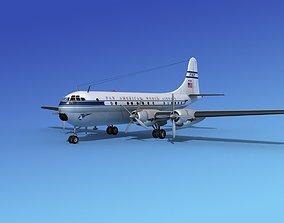 3D model Boeing 377 Pan Am 2