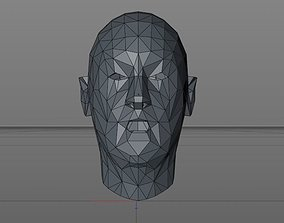 3D model Controllable face movements