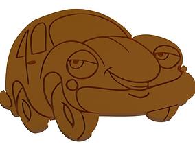 3D print model Shape cookie Car