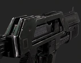3D model GUN 1001 - Rifle